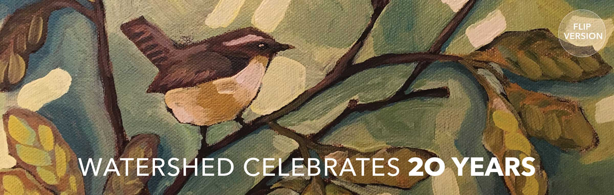 Watershed Celebrates 20 Years