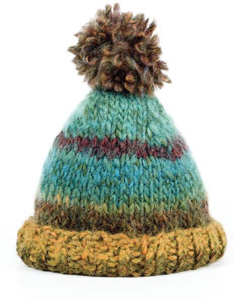 hand knit toque