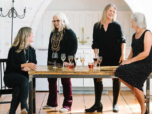 3 Somms & A Pomm - four women in the wine industry