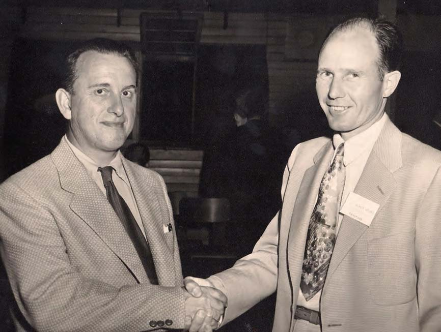 Foster M. Russell and colleague