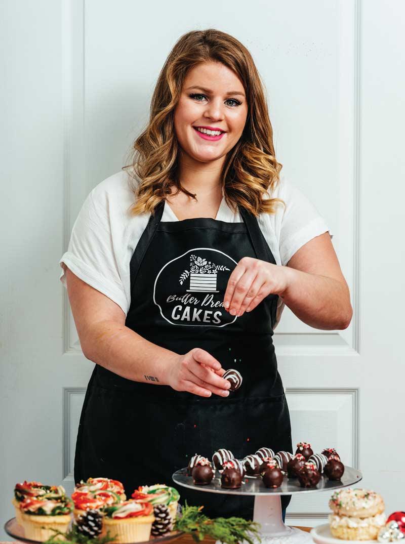 Meganne Belisle from Butter Dream Cakes