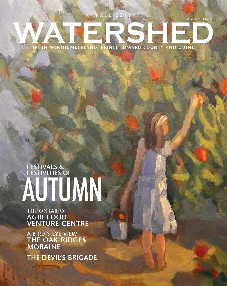 Watershed Magazine Fall 2015 cover
