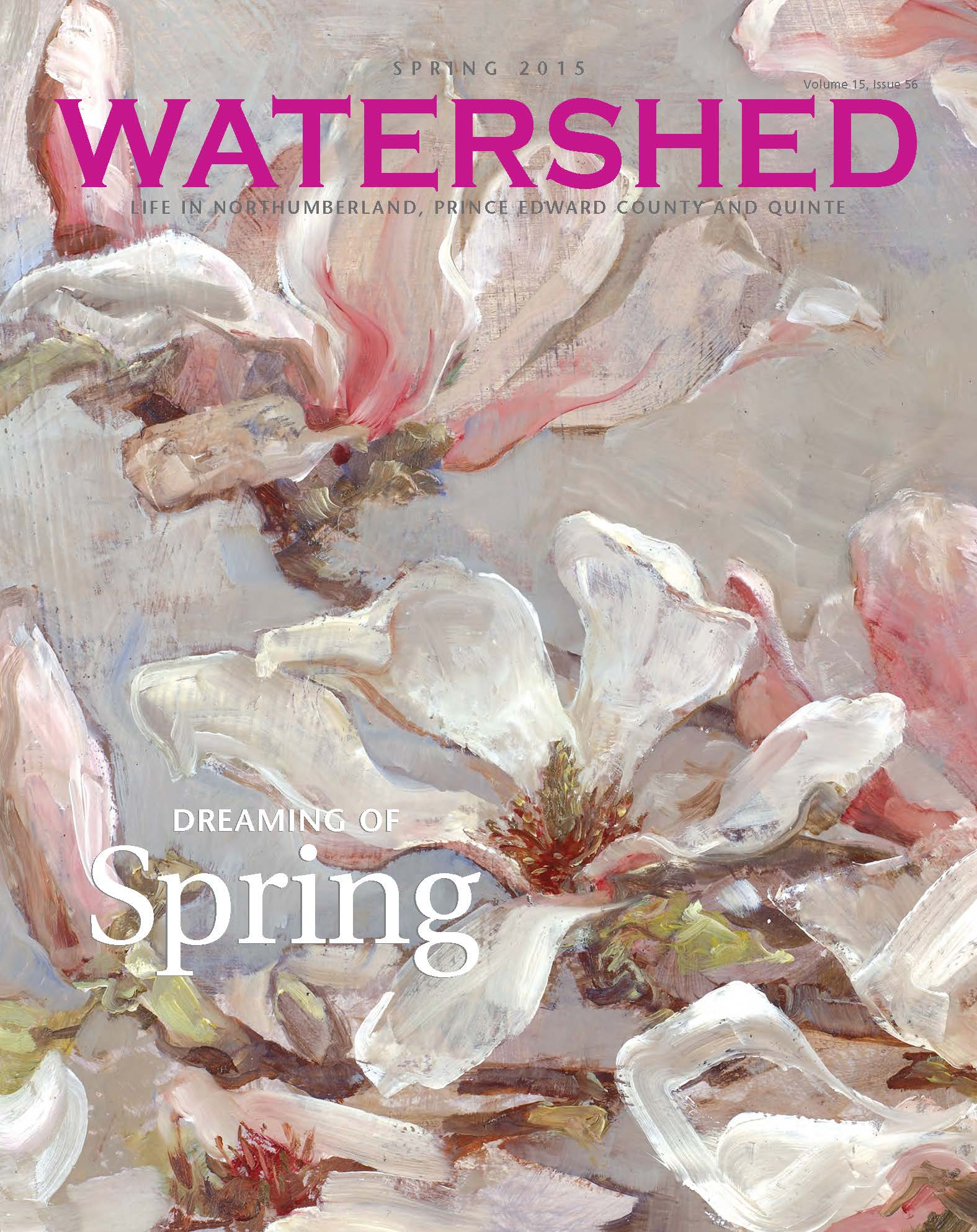 Watershed Magazine Spring 2016 cover