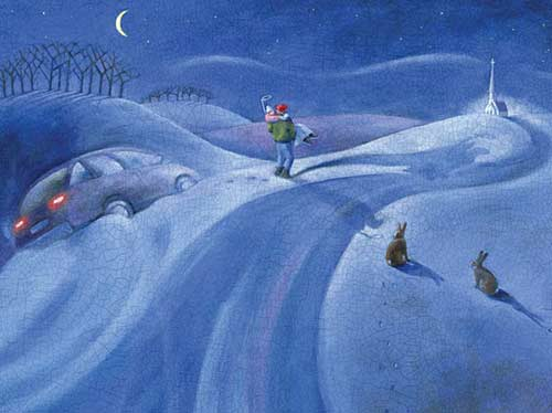Christmas Fiction - Snow Angel by Chris Cameron