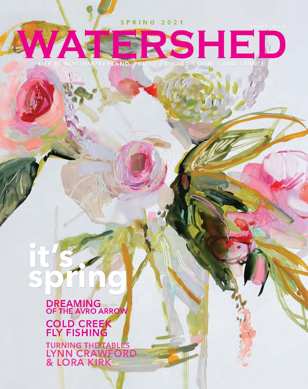 Watershed Magazine Spring 2021 cover